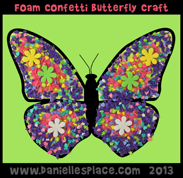 Printable Butterfly Craft