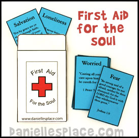 First Aid For The Soul Envelope Craft Printable Craft