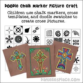 Doodle Cross Templates