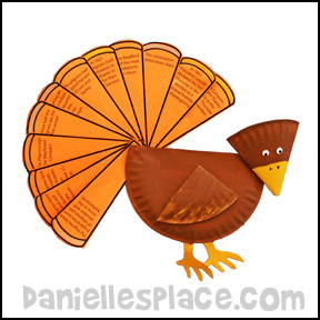 Story of Thanksgiving Paper Plate Turkey Craft  sc 1 st  Printable Craft Patterns & Paper Plate Crafts | Download Categories | Printable Craft Patterns