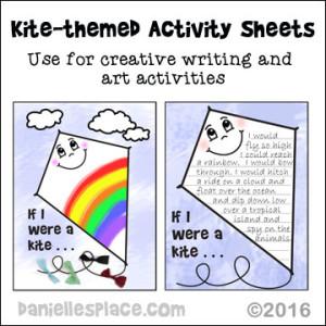Kite Activity Sheets