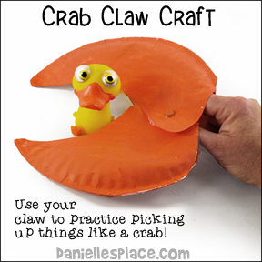 Crab Claw Paper Plate Craft Pattern  sc 1 st  Printable Craft Patterns & Paper Plate Crafts | Download Categories | Printable Craft Patterns