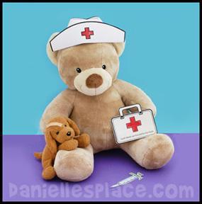 nurse-cap-bear-craft-4