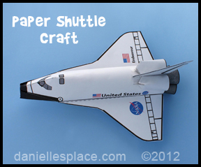 space shuttle paper patterns - photo #5