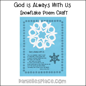 Snowflake Poem and Craft