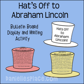 Hat's Off to Abraham Lincoln Printables