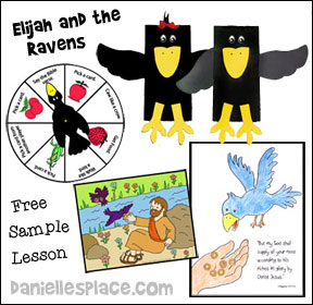 Elijah and the Birds Sunday School Lesson