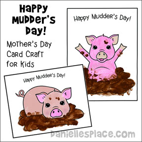 Happy Mudder's Day Craft