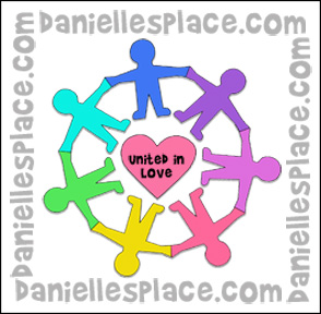 """United in Love"" Circle of Kids Craft"
