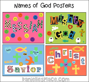 Names for God Poster Craft
