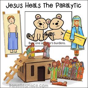 Jesus Heals The Paralyzed Man Bible Lesson
