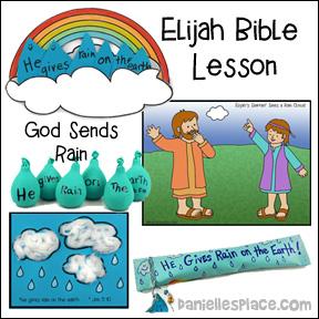 God Gives Us Rain Elijah Bible Lesson