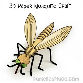 3D Mosquito Craft