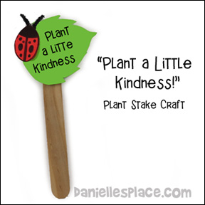 Plant Stake Craft