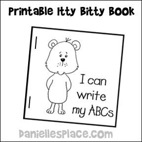 ABC Itty Bitty Book