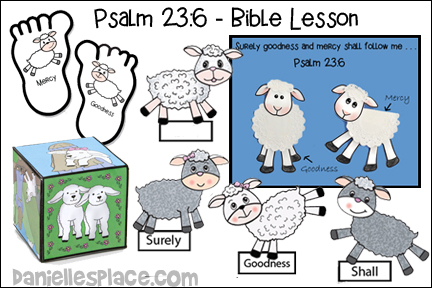 Goodness and Mercy - Psalm 23:6 - Bible Lesson
