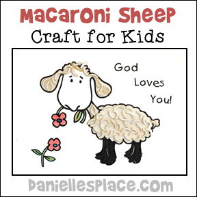 Sheep Noodle Craft