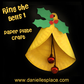 ring the bells paper plate craft printable craft patterns
