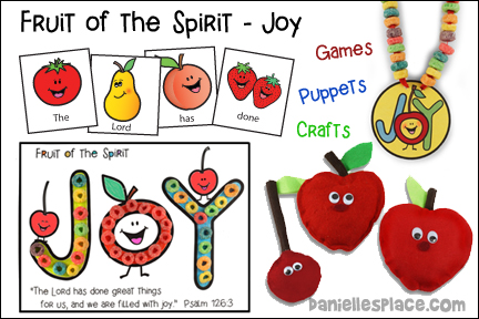 Fruit of the Spirit - Joy Bible Lesson - NIV