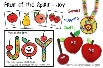 Fruit of the Spirit - Joy Bible Lesson - NIV