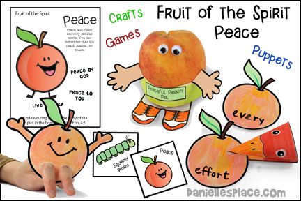 Fruit of the Spirit - Peace Bible Lesson - NIV