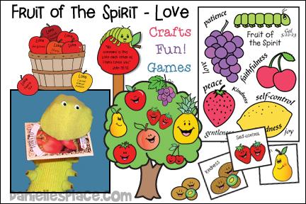 Fruit of the Spirit -Love Bible Lesson - NIV