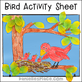 Bird Activity Sheet