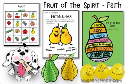 Fruit of the Spirit - Faithfulness Bible Lesson - NIV