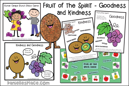 Fruit of the Spirit Bible Lesson - Goodness - KJV