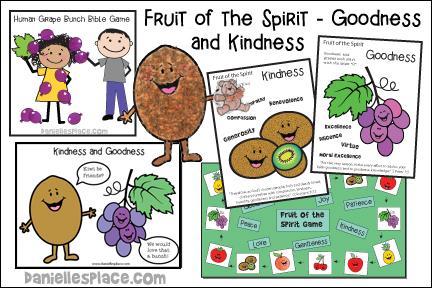 Fruit of the Spirit Bible Lesson - Goodness - KJV