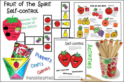 Fruit of the Spirit - Self-control  Bible Lesson - KJV