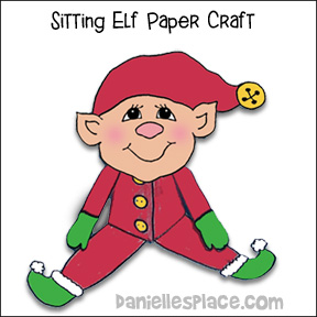 Christmas Elf Paper Craft