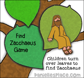 """Where's Zacchaeus?"" Review Game"