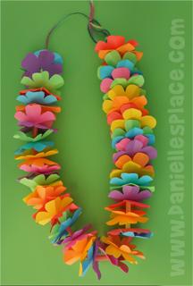 Paper flower leis printable craft patterns paper flower leis mightylinksfo