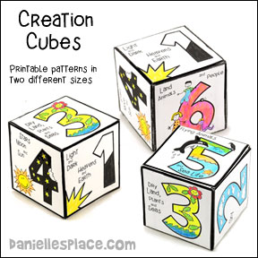 Days of Creation Cube Craft