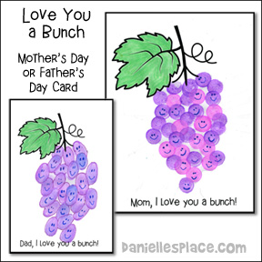 """I Love You a Bunch"" Father's Day and Mother's Day Card"
