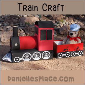 Train Craft Pattern