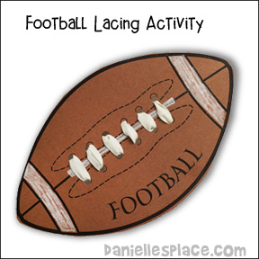 Football Lacing Craft