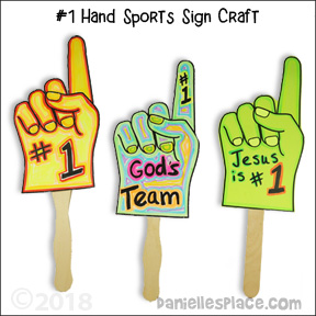 Number One Sport Hand Craft