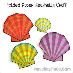 Seashell Paper Craft