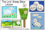 The Lost Sheep Bible Lesson - KJV