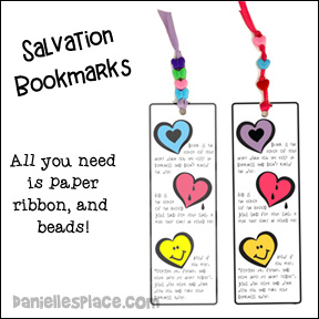 Salvation Bookmarks