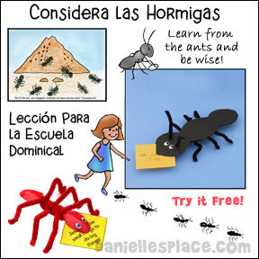Consider the Ants Spanish Lesson