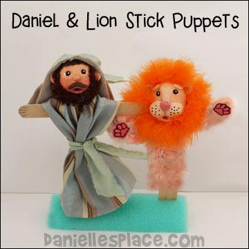 Daniel and Lion Puppet