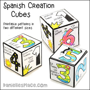 Creation Cube - Spanish