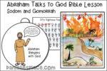 Abraham Talks to God Bible Lesson