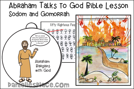 Abraham Talks to God Bible Lesson