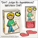 1 Samuel 16:7 - God Looks at the Heart Matchbox Bible Craft for kids KJV