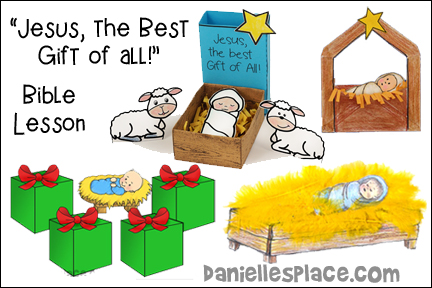 """Jesus the Best Gift of All! Christmas Bible Lesson for Children"