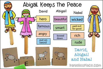 Abigail Keeps the Peace Bible Lesson